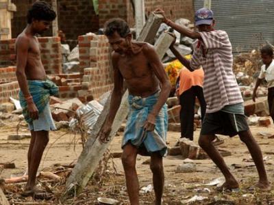 Heyelan ve sellerde, 92 kişi hayatını kaybetti