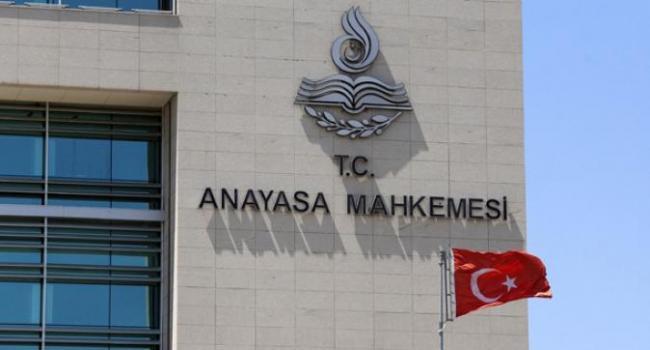 Anayasa Mahkeme'sinden CHP ve HDP ye ret geldi