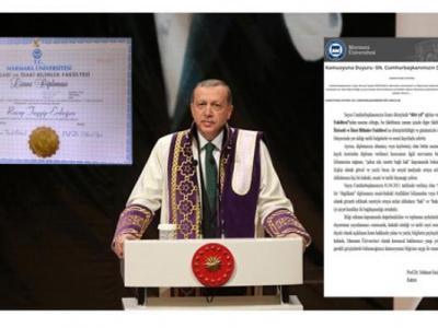 Cumhurbaşkanı Erdoğan Marmara Üniversitesi'nde