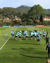 Hırvatistan maçı hazırlıkları devam ediyor