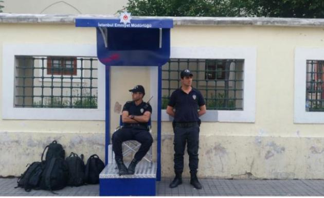 İstiklal Caddesinde polis artık böyle bekleyecek
