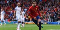 İspanya Çek Cumhuriyet'ini 1 golle geçti